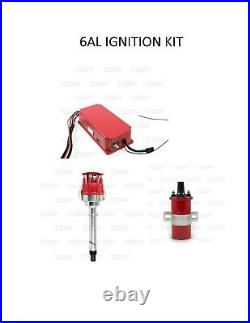 Tps 6al Ignition Kit 6al Box Coil Distributor Street Ignition Chevy Sb Bb