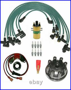 Triumph Stag ignition Leads, Coil, Electronic Ignition, Rotor, Cap & Spark plug kit