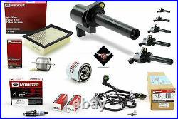 Tune Up Kit 2005 Ford Escape 3.0L V6 Ignition Coil DG500 DG513 FA1696 SP417