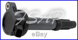 Tune Up Kit 2012 Ford Edge 3.5L V6 Ignition Coil DG520 SP520 FL500S FA1884 EV257