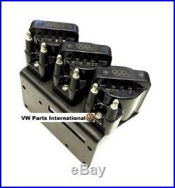 VW Golf MK2 MK3 VR6 Custom Ignition Coil Pack Kit + 10mm High Performance Leads