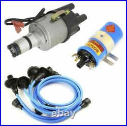 Vw Bug Ignition Kit WithEmpi 9441 Electronic 009 Dist, Bosch Coil, Blue Wires